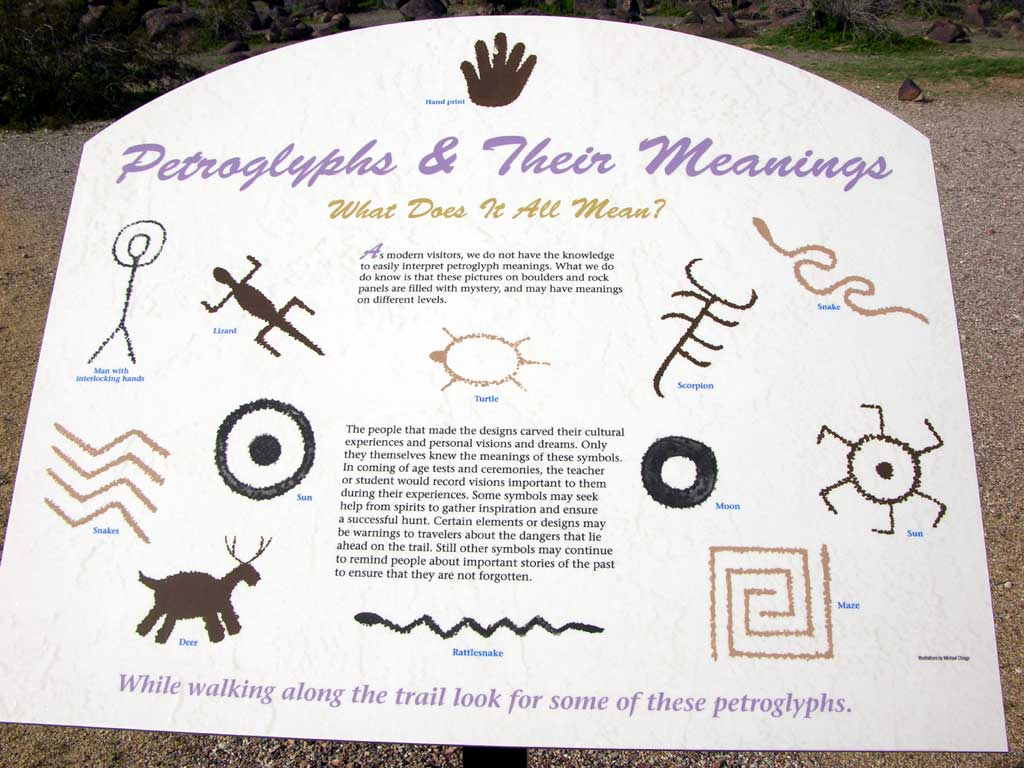 Painted Rock Petroglyph Site — Petroglyphs and their Meanings