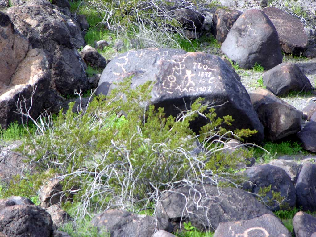 Painted Rock Petroglyph Site — Some could have spiritual meaning, some could be grafiti