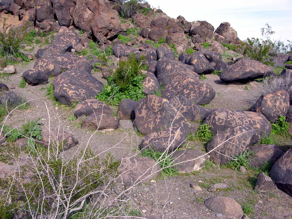 Painted Rock Petroglyph Site