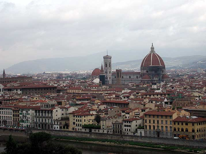 Italian Florence: Italy By Bus