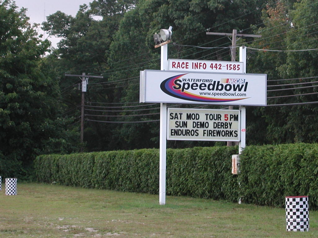 Waterford Speedbowl Photos