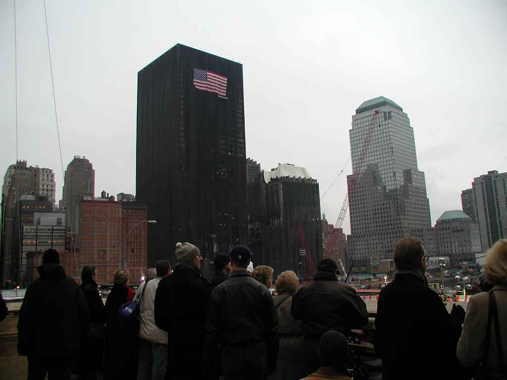 Ground Zero Platform at Fulton and Church Streets